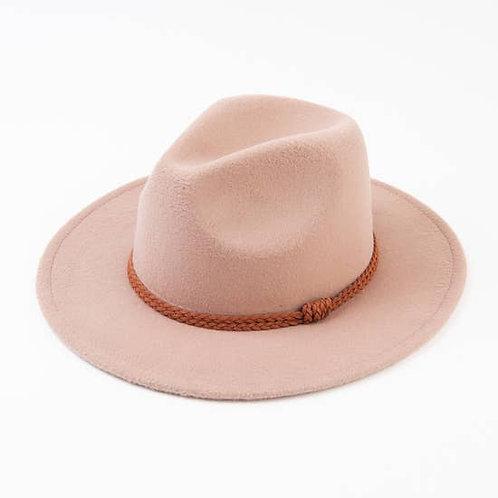 Sorghum Felt Fedora Hat