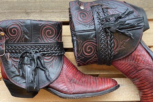 8.5 Lizard Boots