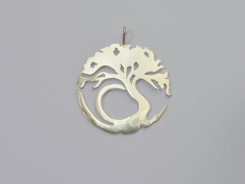 Pingente Árvore da Vida de Prata