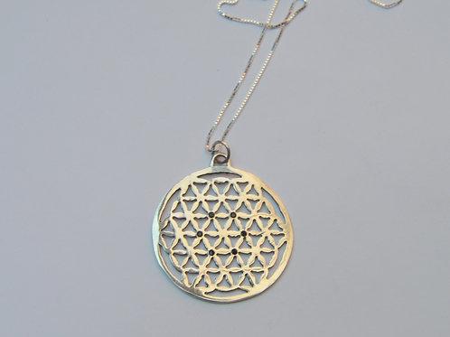 Mandala ;flor da Vida e Onix