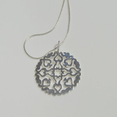 Mandala AMOR de Prata