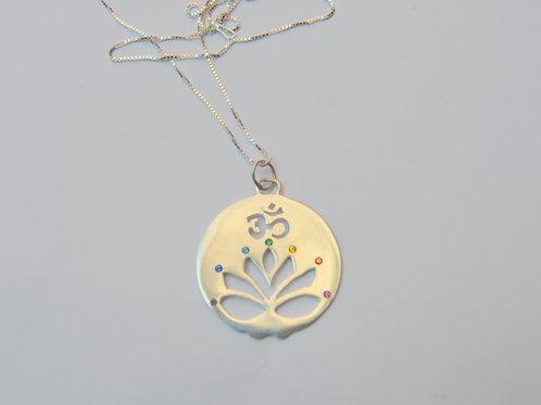 Mandala Flor de Lotus Om