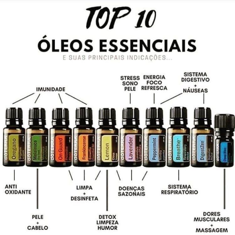 Óleos essenciais doTerra
