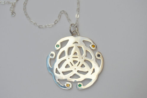 Mandala Celta de Prata
