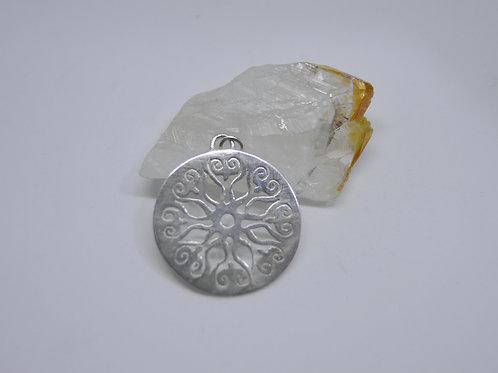Mandala Felicidade de Prata