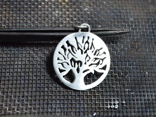 Mandala Árvore da Vida de Prata