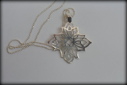 Mandala Flor de Prata
