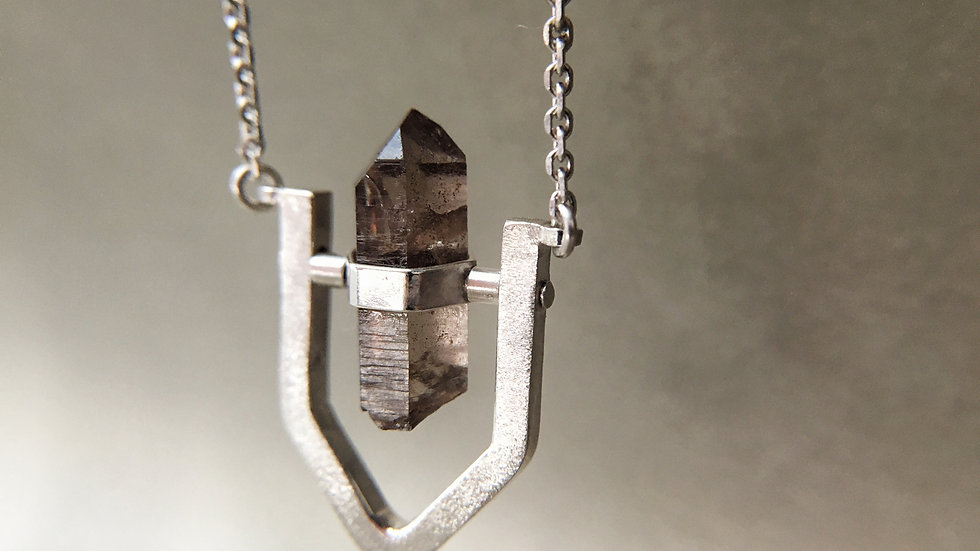 ' ATARAXIE ' | smoky quartz necklace