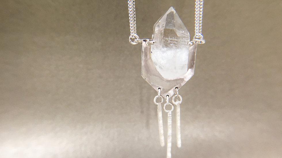 ' EXODES ' | collier quartz hyalin