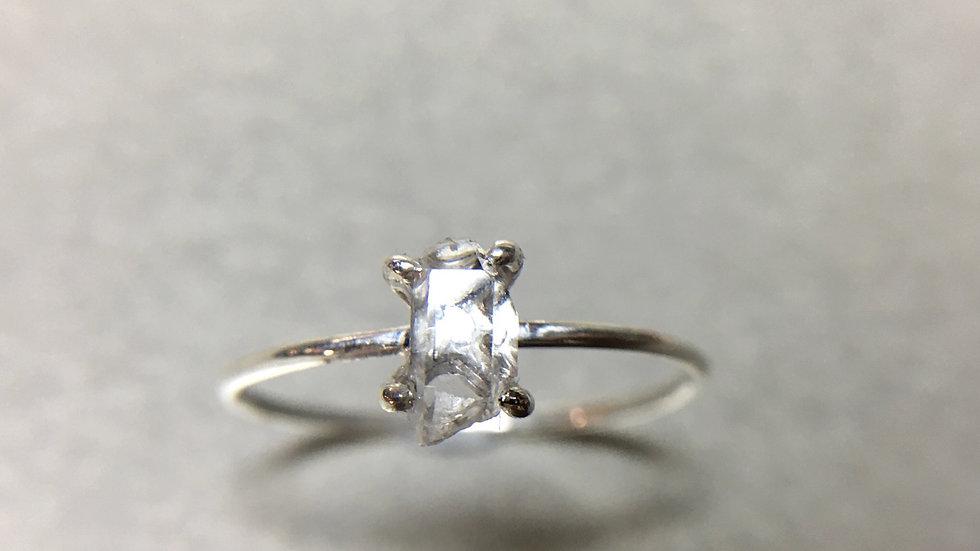 Hyaline Quartz ring