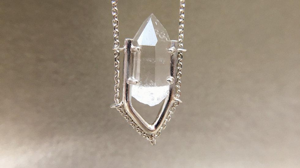 ' ANTIPODES ' | hyaline quartz necklace
