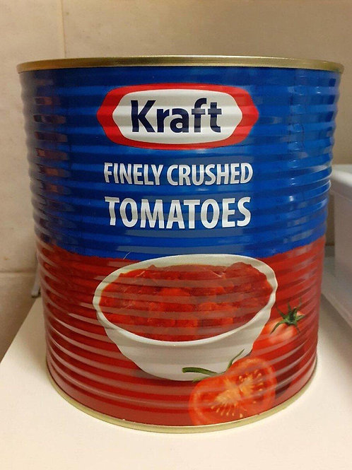 Kraft finely crushed tomatoes 2 x 2.5kg