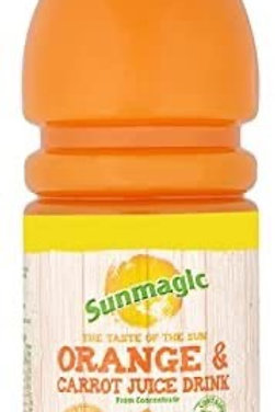 Sunmagic Orange/Carrot 12 x 500ml