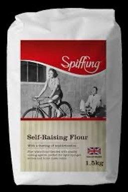 Spiffing self raising flour 1.50kg