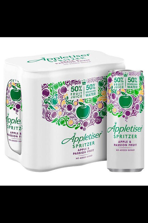 Appletiser spritzer apple and passion fruit 24 x 250