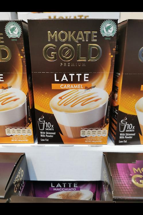 Mokate Latte Caramel 10 sachet box