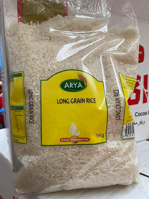 Arya long grain rice 1kg