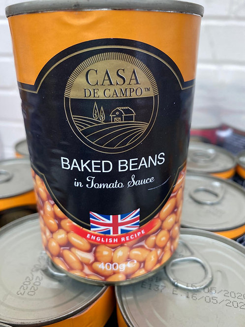 Casa de campo baked beans 400g