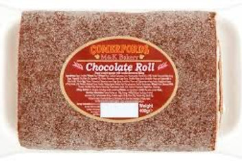 Comerfords giant Swiss roll 400g Chocolate