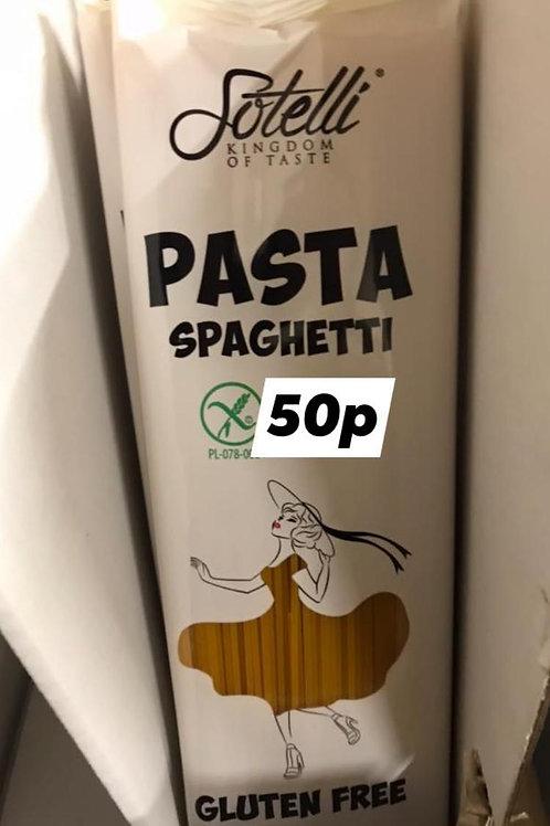 Pasta spaghetti gluten free