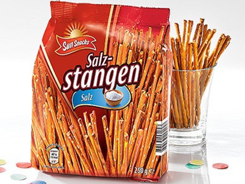 Aldi salz snacks sticks 2 x 250g