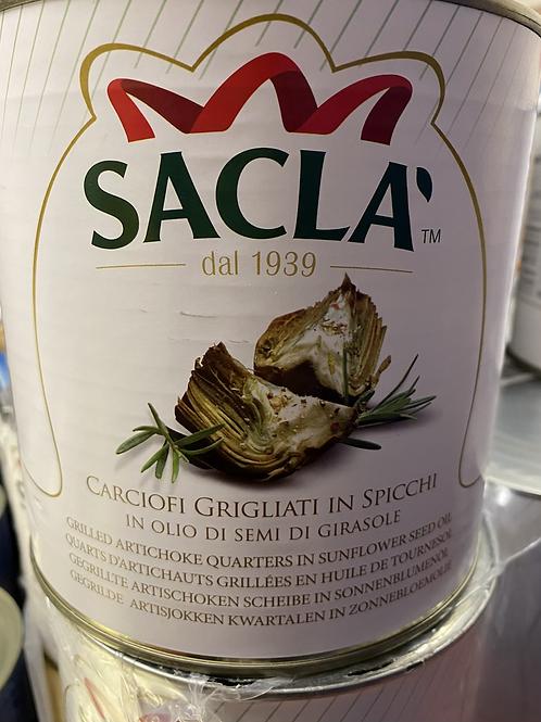 Sacla Grilled Artichoke 2.5kg