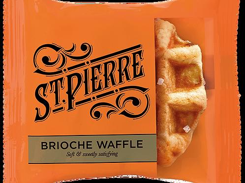 St Pierre brioche waffles 12 pk