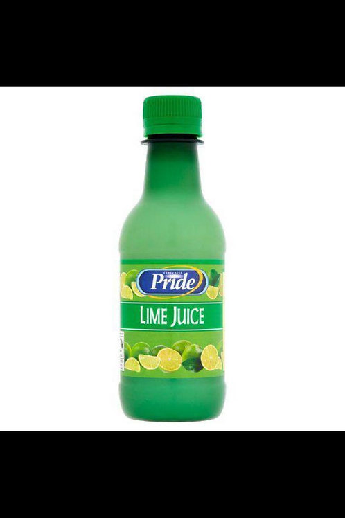 Pride lime juice