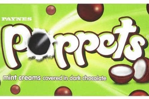 Poppets  mint cream 40g x 3