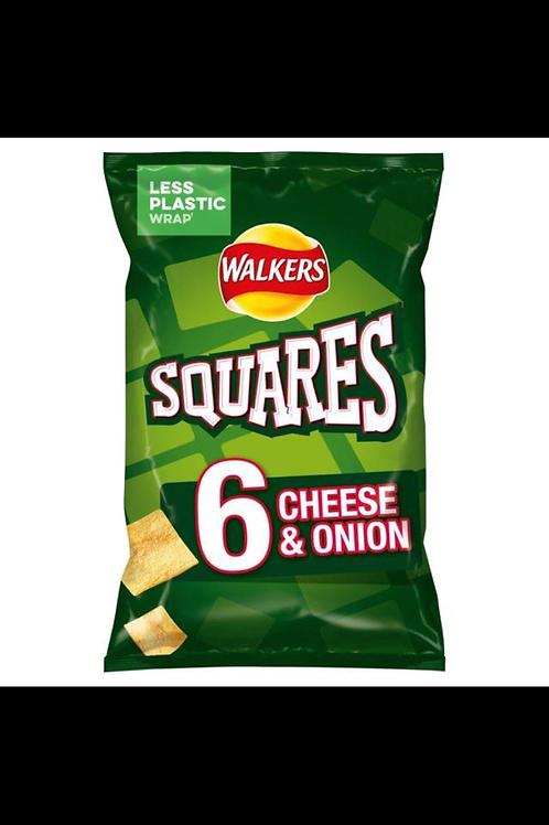 Walkers squares 6pk x 2