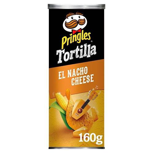Pringles Tortilla Nacho Cheese 160g x 2