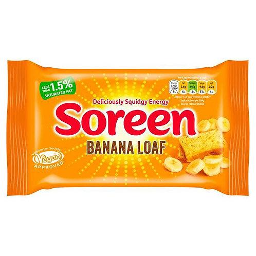 Soreen banana loaf  2 x