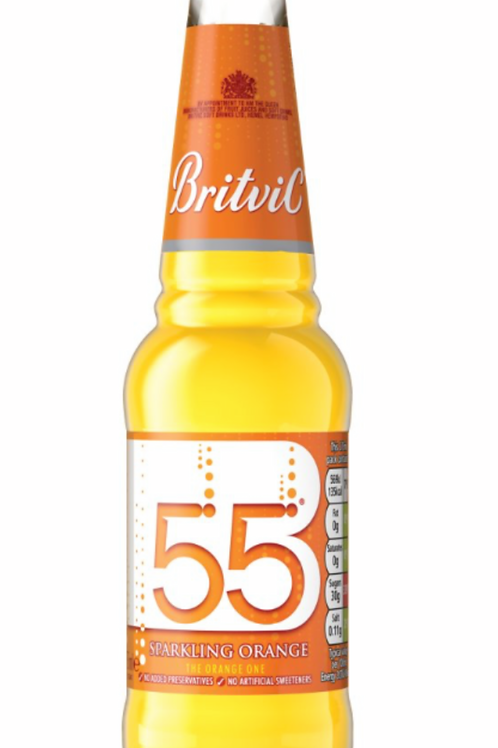 Britvic 55  sparkling orange  275ml