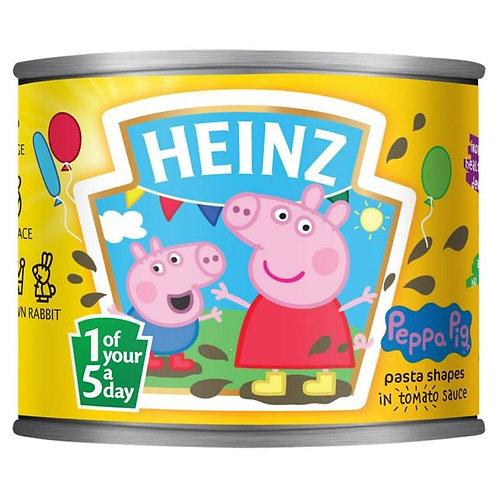 Heinz Peppa Pig pasta in tomato sauce 3 x 205g