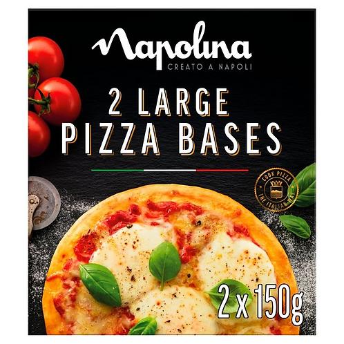 Nepolina pizza base large 300g pack
