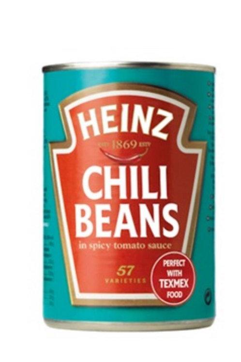Heinz chilli beans 390g 2 for