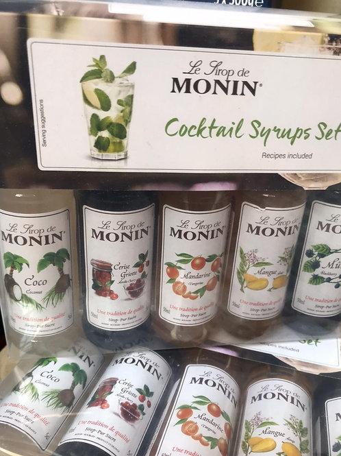 Cocktail syrups set