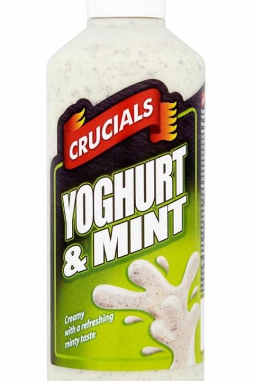 Yoghurt & mint