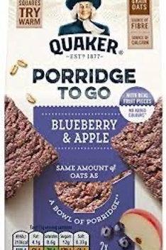 Quaker porridge to go 110g x6