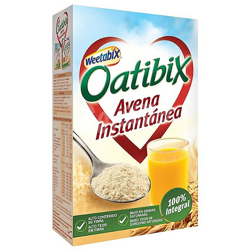 Oatibix Oats  contains whole oats and oat meal  450g