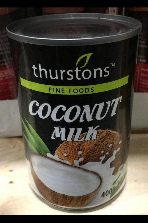 Thurstons coconut milk 400ml