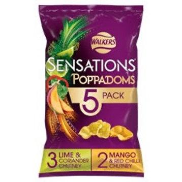 Sensations poppadoms variety 5pk x 2