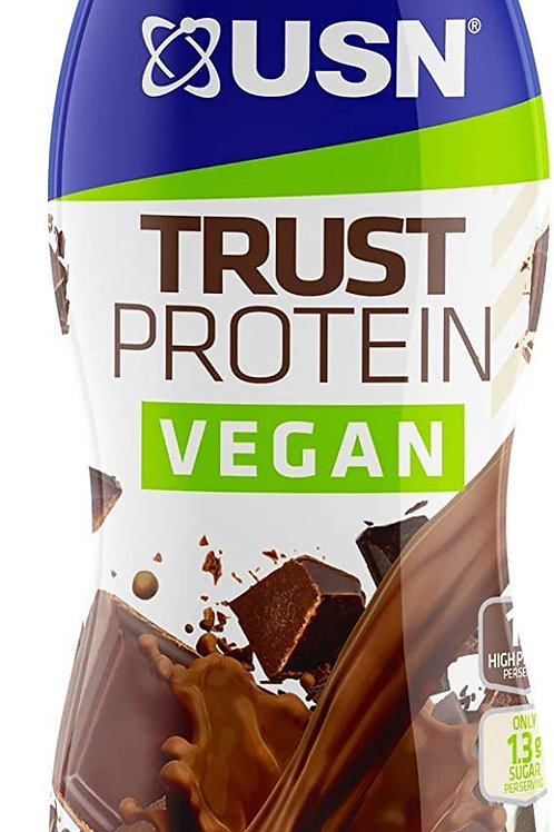 USN high protein Vegan  choc milkshake 8 x 31l