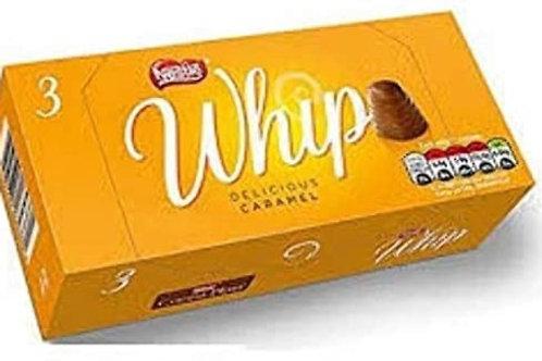 Nestle whip caramel  3pk
