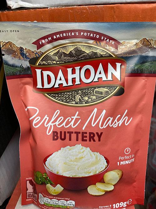 Idahoan perfect mash.Buttery 109g