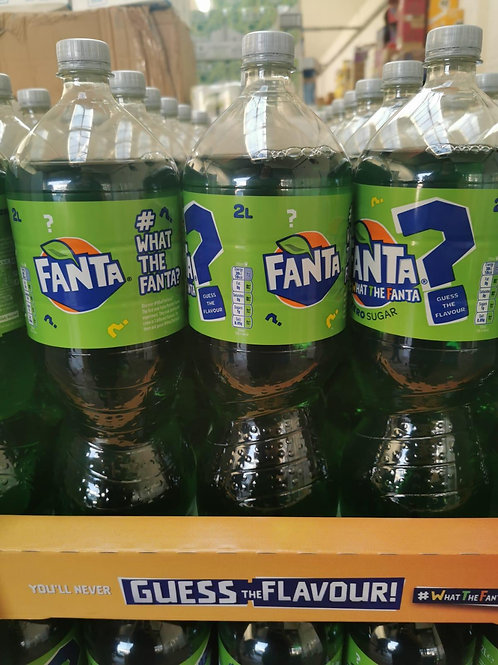 What the Fanta 2 X 2ltrs