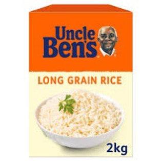 Uncle Ben's Long Grain rice 2kg