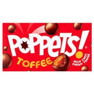 Poppets toffee 39g x 3