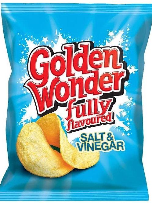 Golden Wonder Salt n Vinager 75gx 15