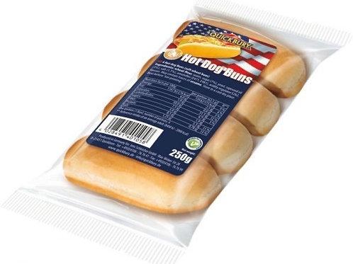 Quick bury Hot dog buns large 4pk